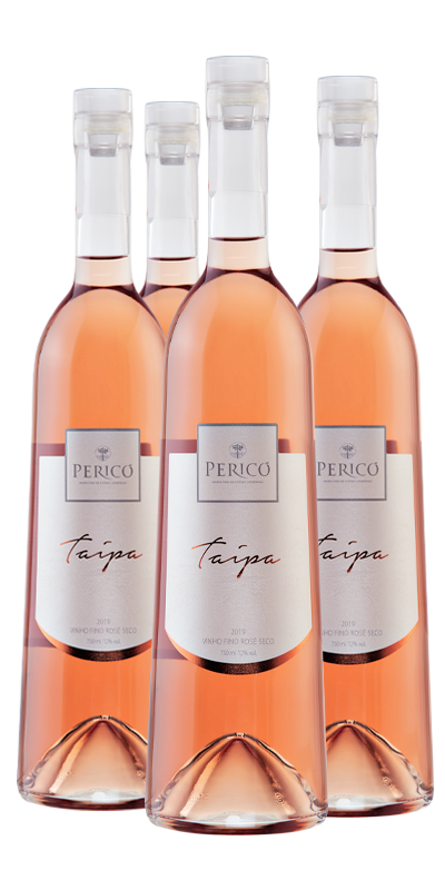 Kit 4 Gfs. Taipa Rosé 2019 - 750 ml.