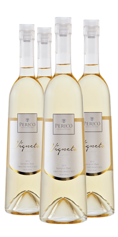 Kit 4 Gfs. Vigneto Sauvignon Blanc 2019 - 750 ml.