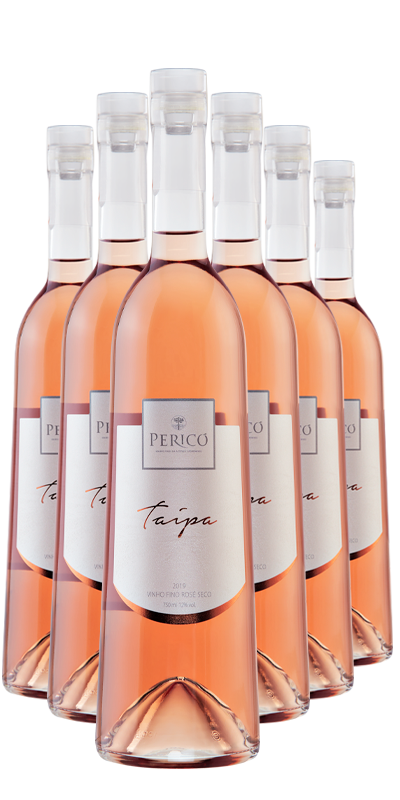 Kit 6 Gfs. Taipa Rosé 2019 - 750 ml.