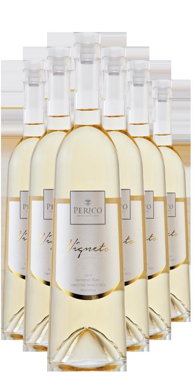 Kit 6 Gfs. Vigneto Sauvignon Blanc 2019 - 750 ml.