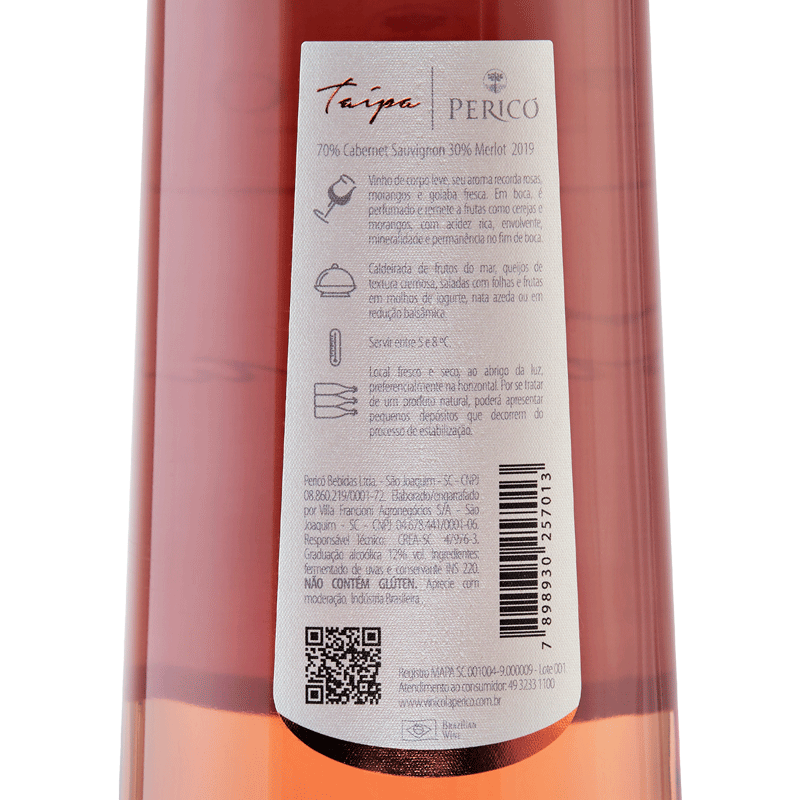 Taipa - Rosé - Safra 2019 750 ml.