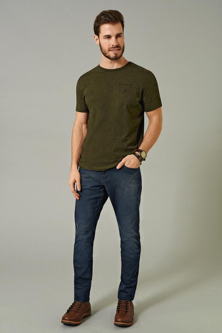 Calça Masculina Skinny