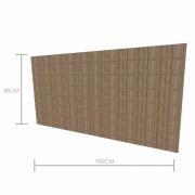 Expositor canaletado 18mm altura 90 cm comp 180 cm