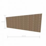Expositor canaletado 18mm altura 90 cm comp 240 cm