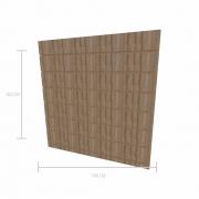 Expositor canaletado 18mm altura 90 cm comp 90 cm