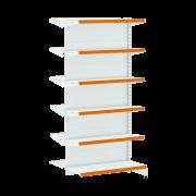 Gôndolas Flex 40 Continuação Centro - 1,96 alt | Base e Bandeja 0,40 C12
