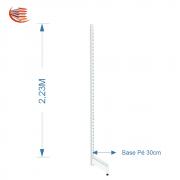 Pé de Gondola Parede 2,23 30cm