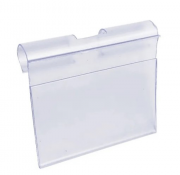 Porta Etiqueta simples - Para gancheira Amapa - kit 10