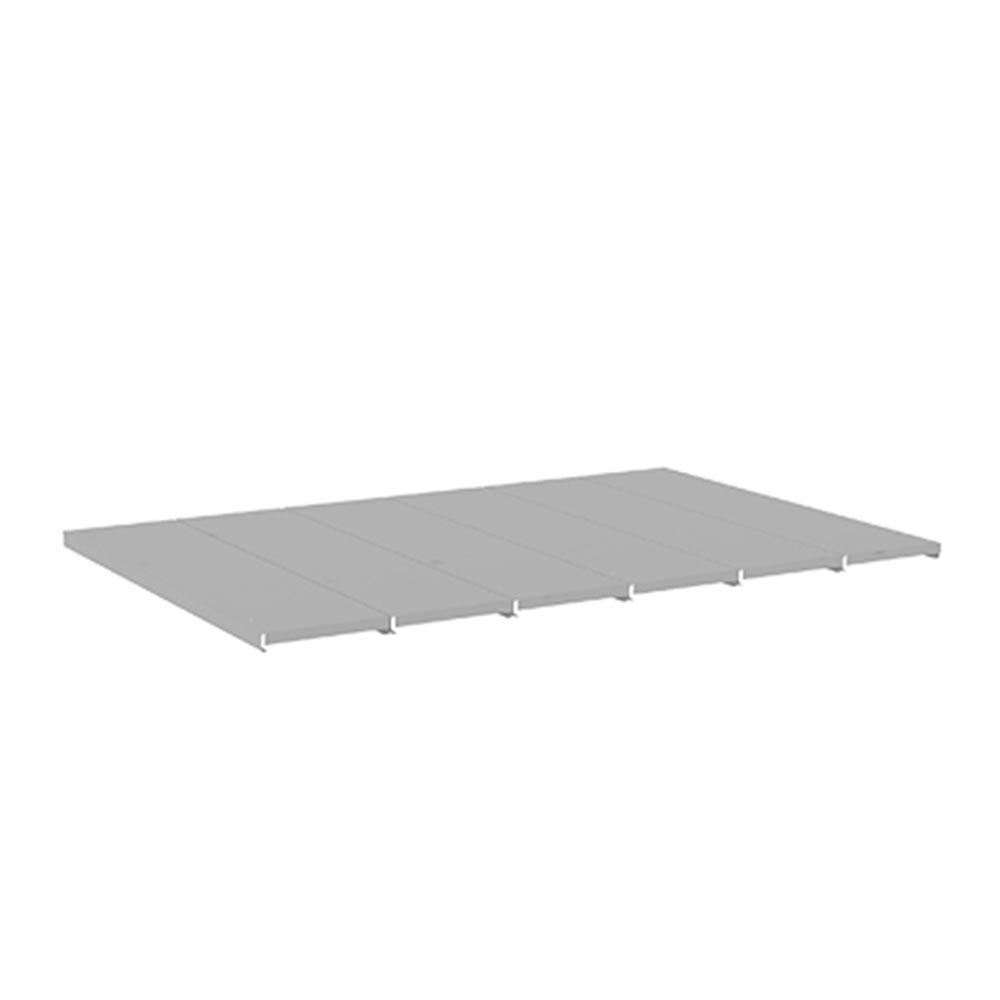 Bandeja em Aço para Mini Porta Pallet 500kg - Amapá 0,20x0,80 C6 - P/ LONGARINA 1,20