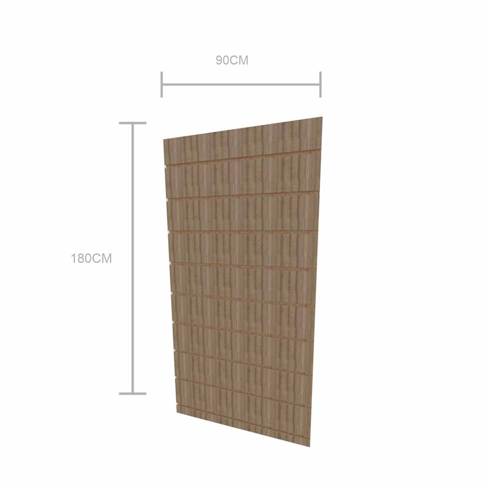Expositor canaletado 18mm altura 180 cm comp 90 cm
