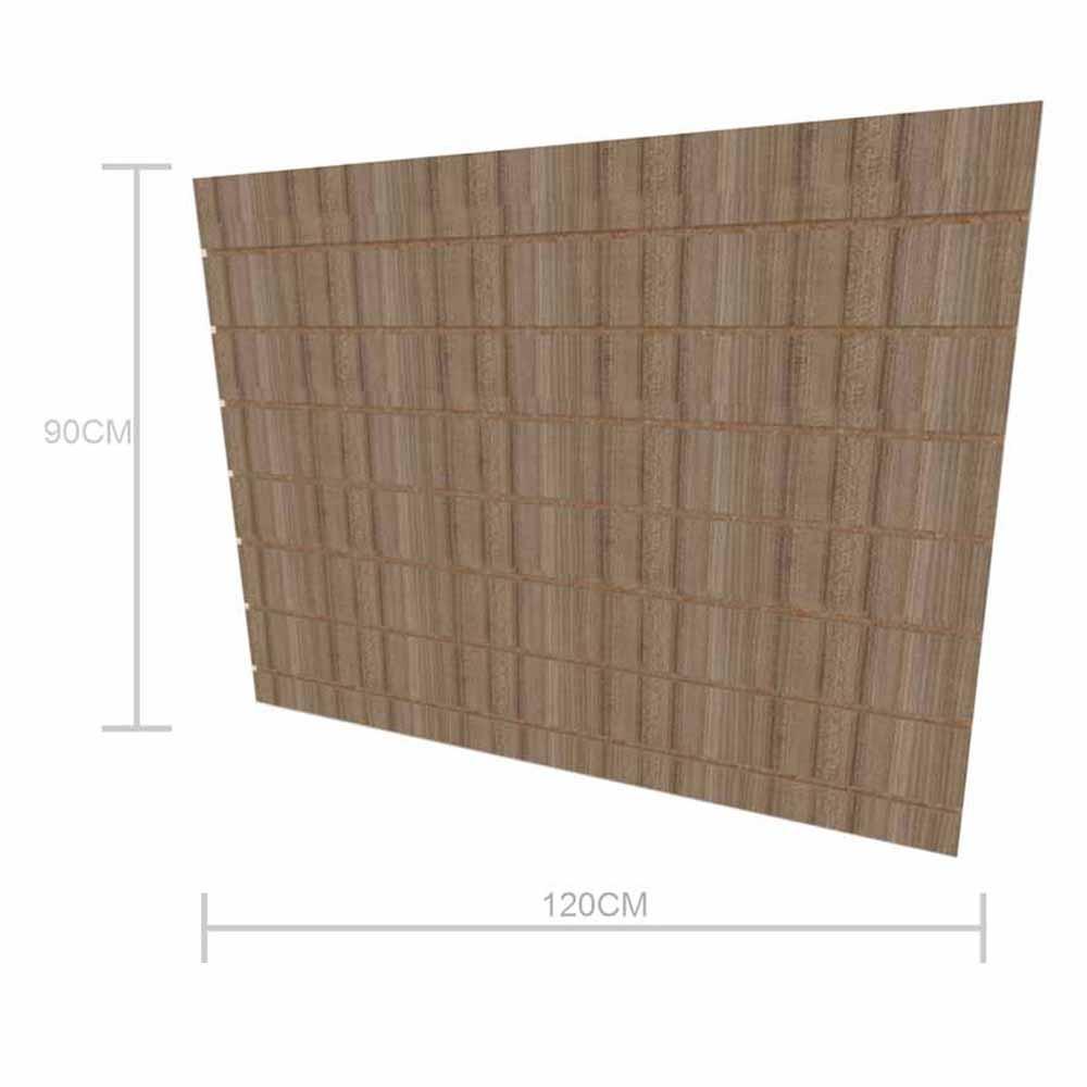 Expositor canaletado 18mm altura 90 cm comp 120 cm