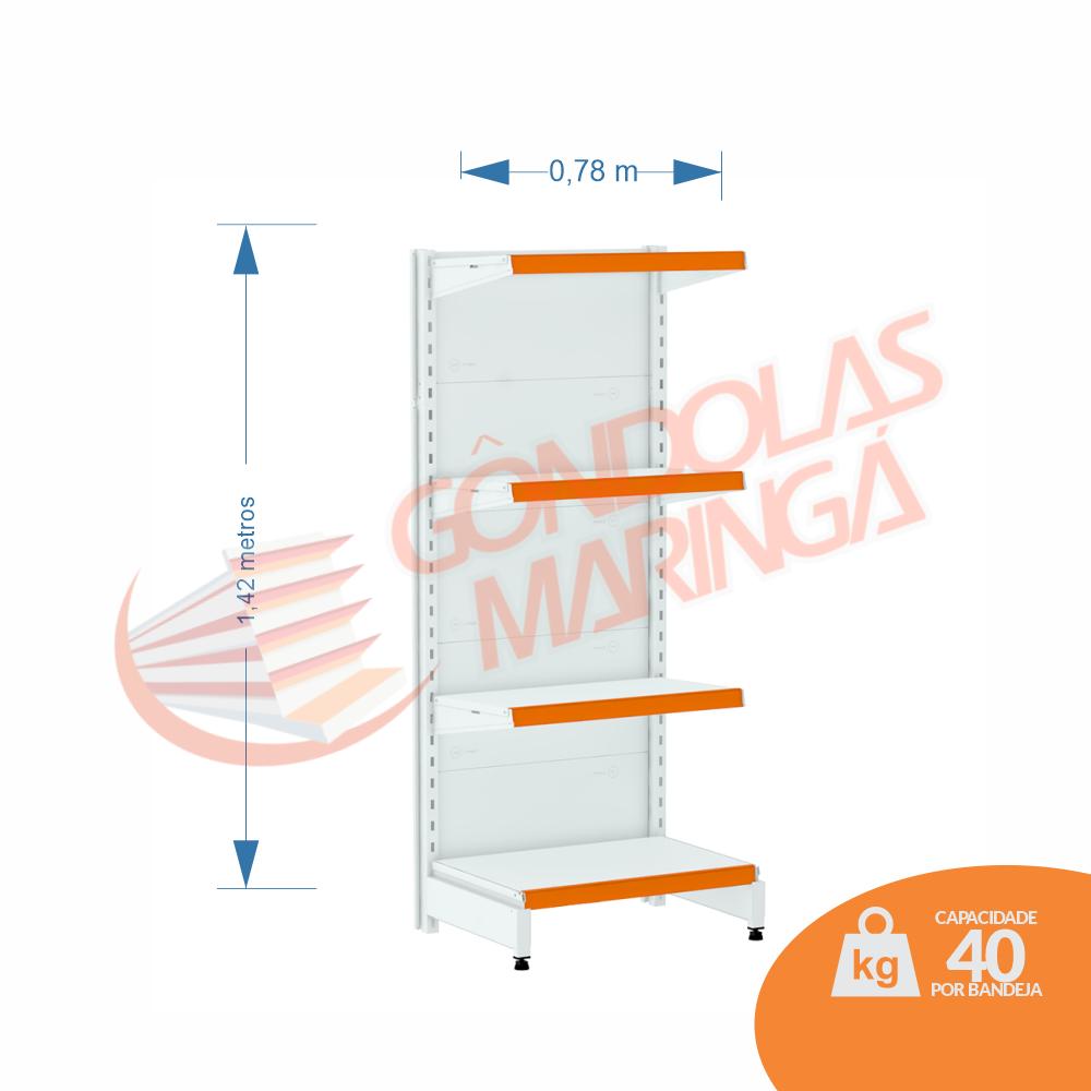 Gôndolas Flex 40 Ponta - 1,42 alt | C4