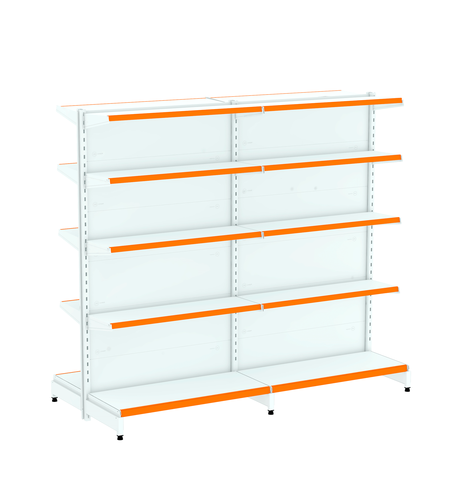 Kit 02 Gôndolas para Centro 1,70  40/30