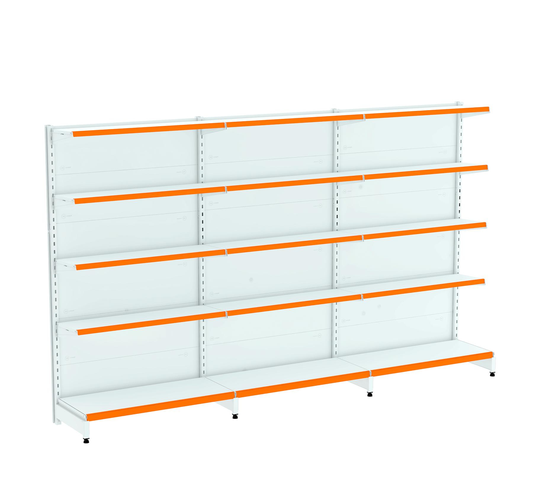 Kit 03 Gôndolas para Parede 1,70  40/30