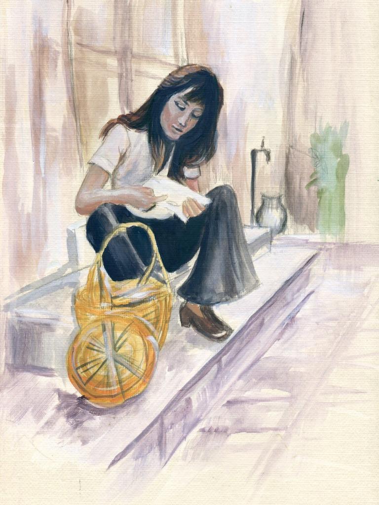 Á espera de boas notícias por Cecília Arguello