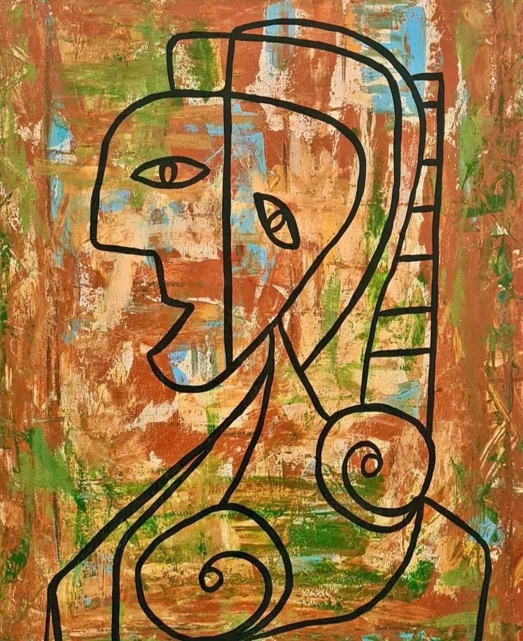 Abstrato por Ticiana Parada