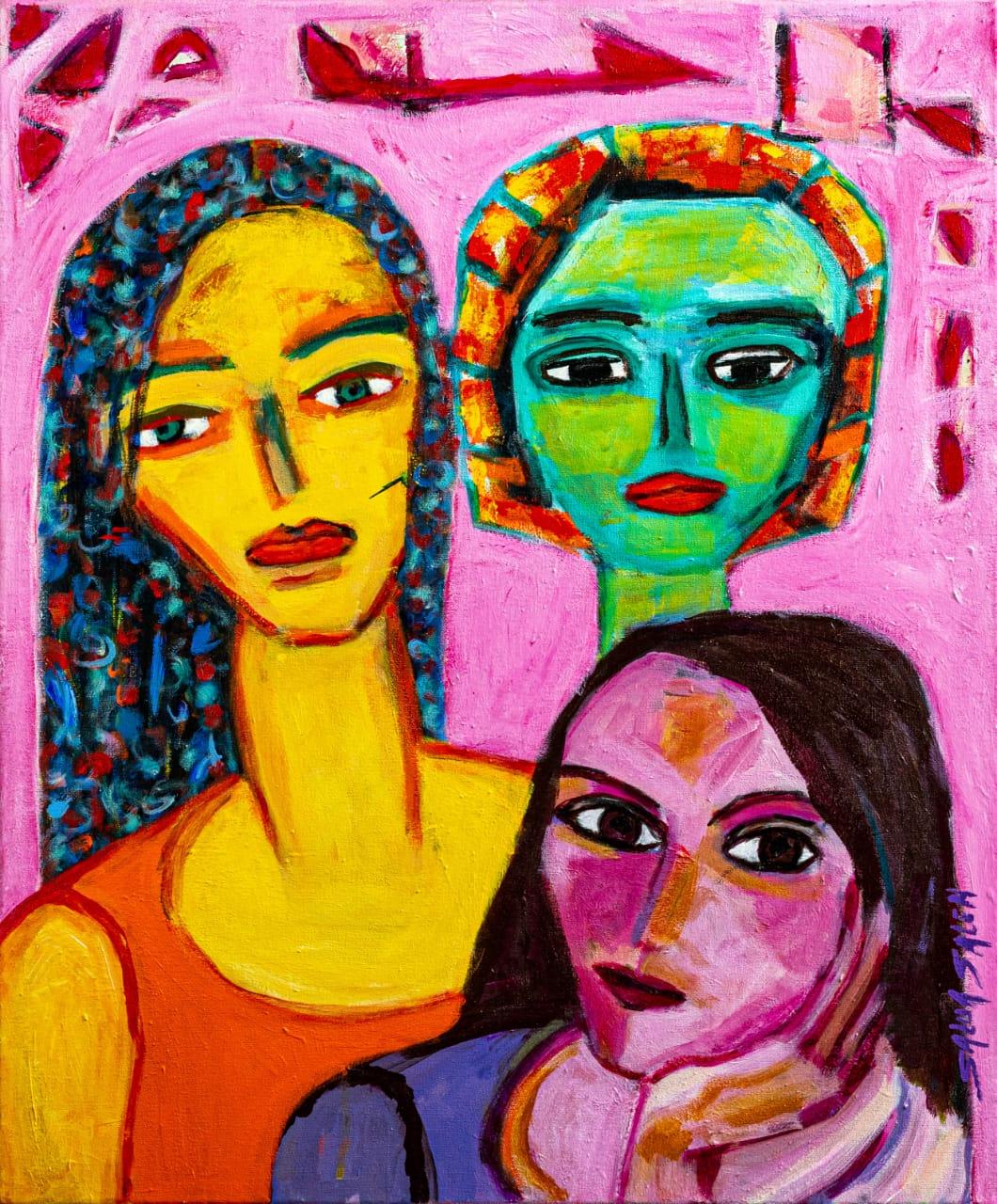 As Três Mulheres por Salua Saleh