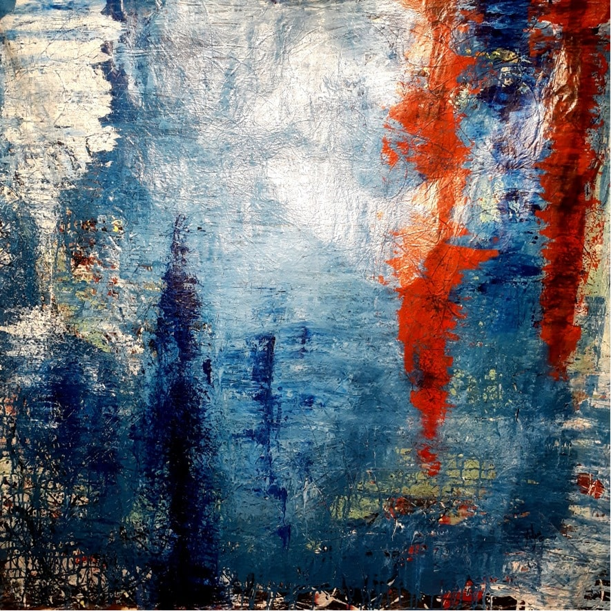 Azul por Alex Sena