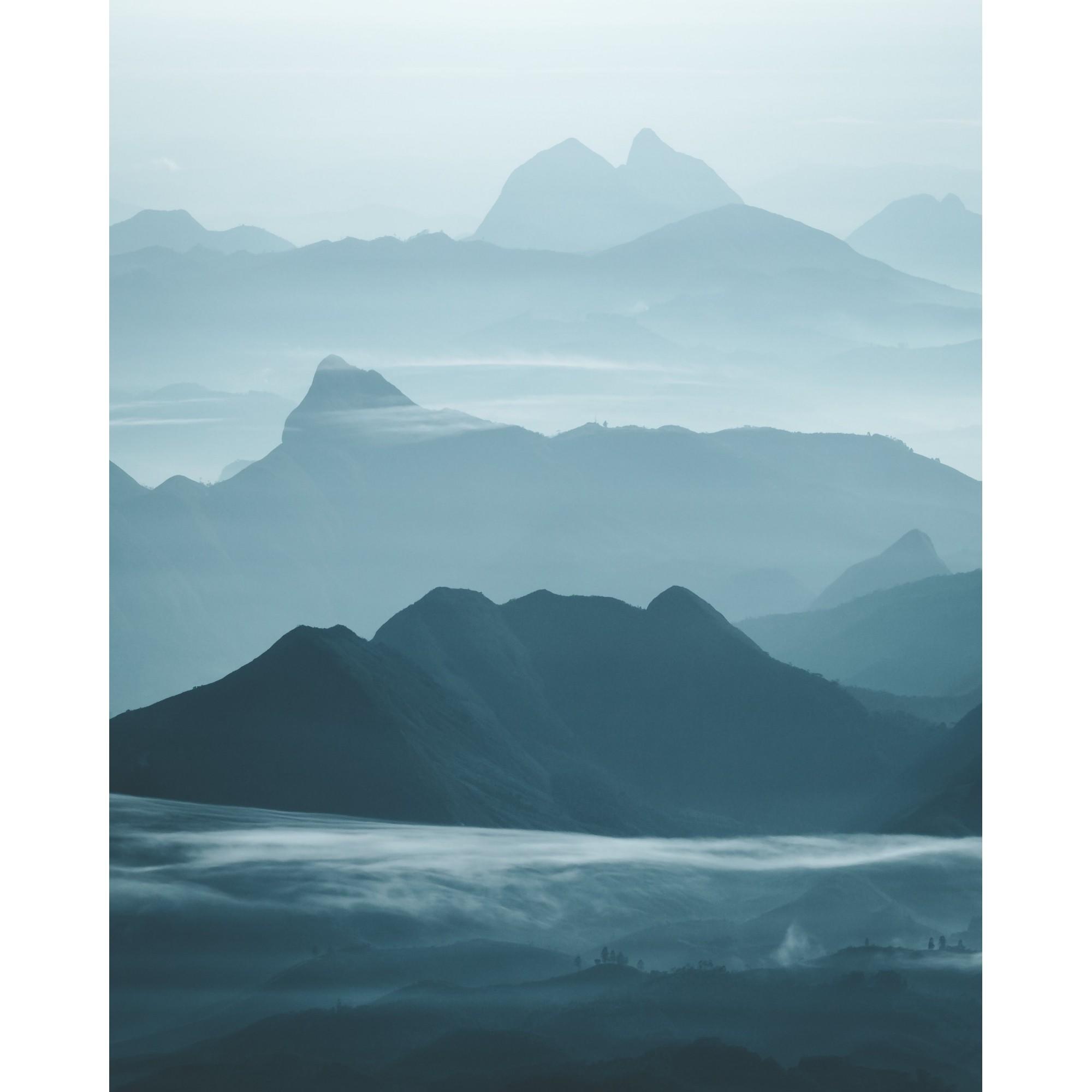 Blue Layers por Lucas Guerra