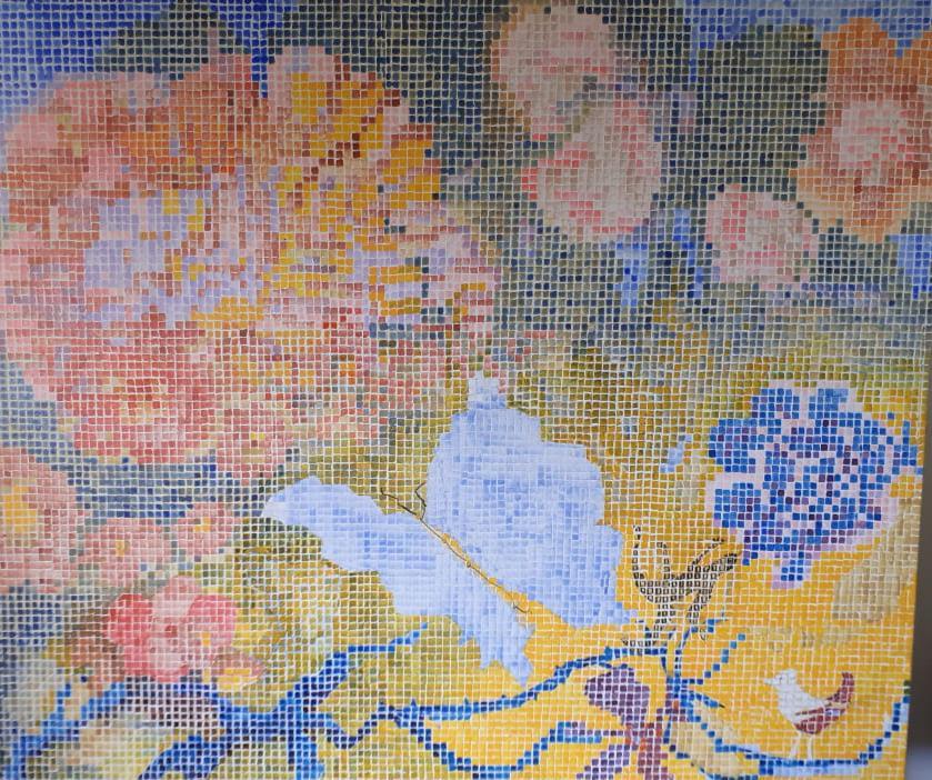 Borboleta e flor por Fernando Fonseca