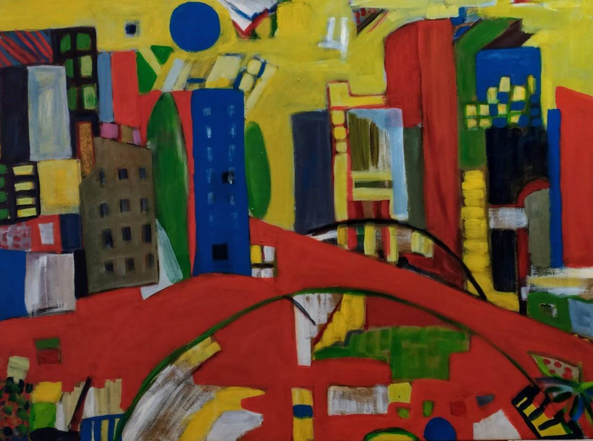 Cidade Imaginária por Salua Saleh