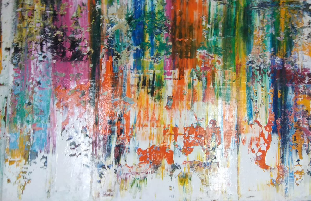 Cores na Areia por Norberto Noschang