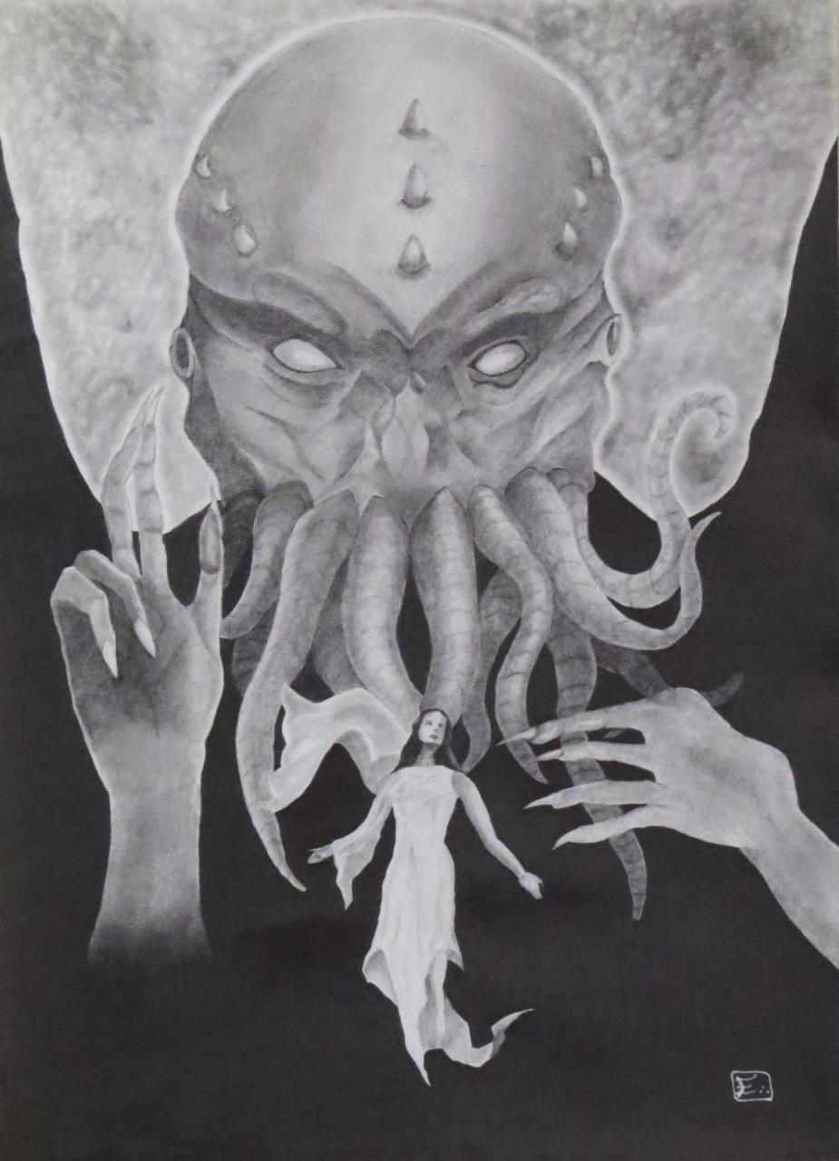 Cthulhu por Arnaldo Etrusco