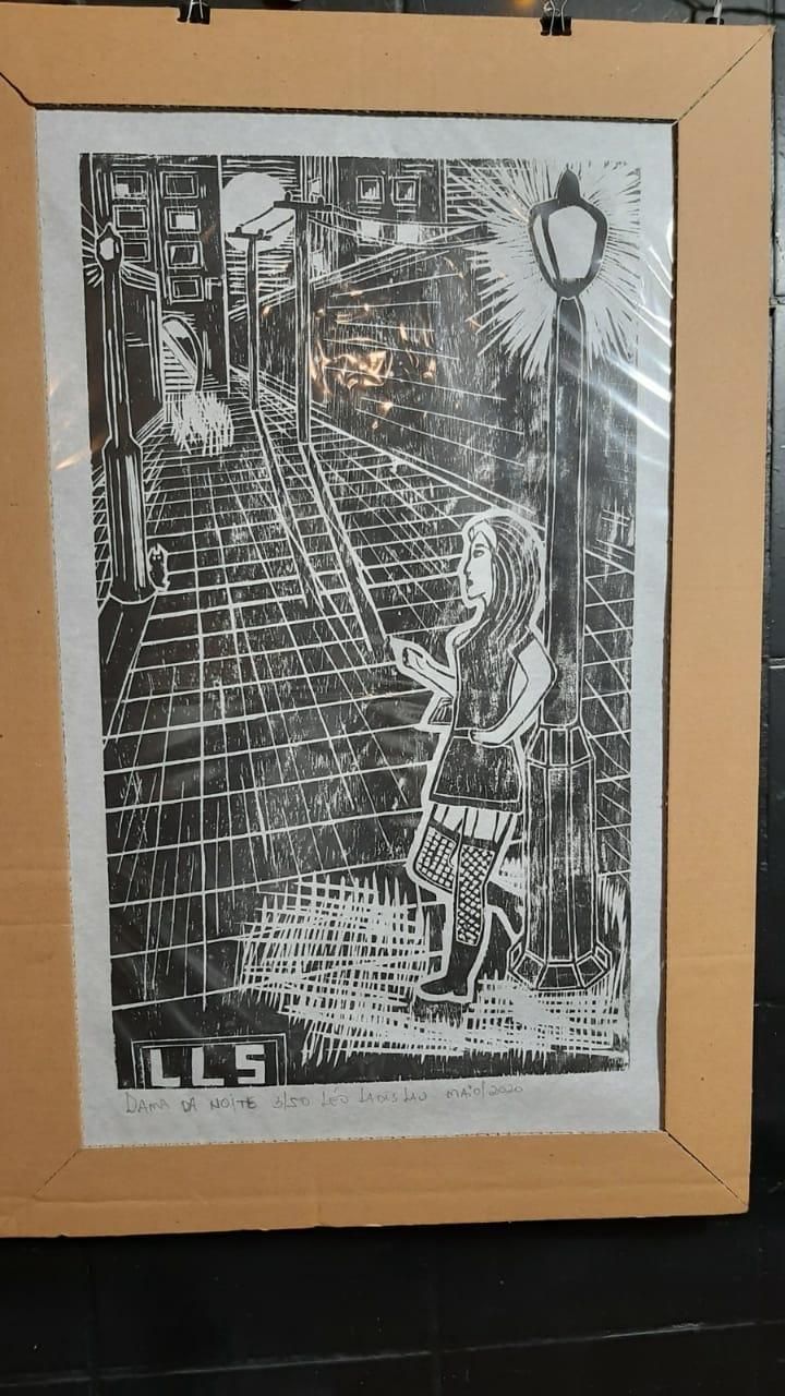 Dama da noite por Leo Ladislau