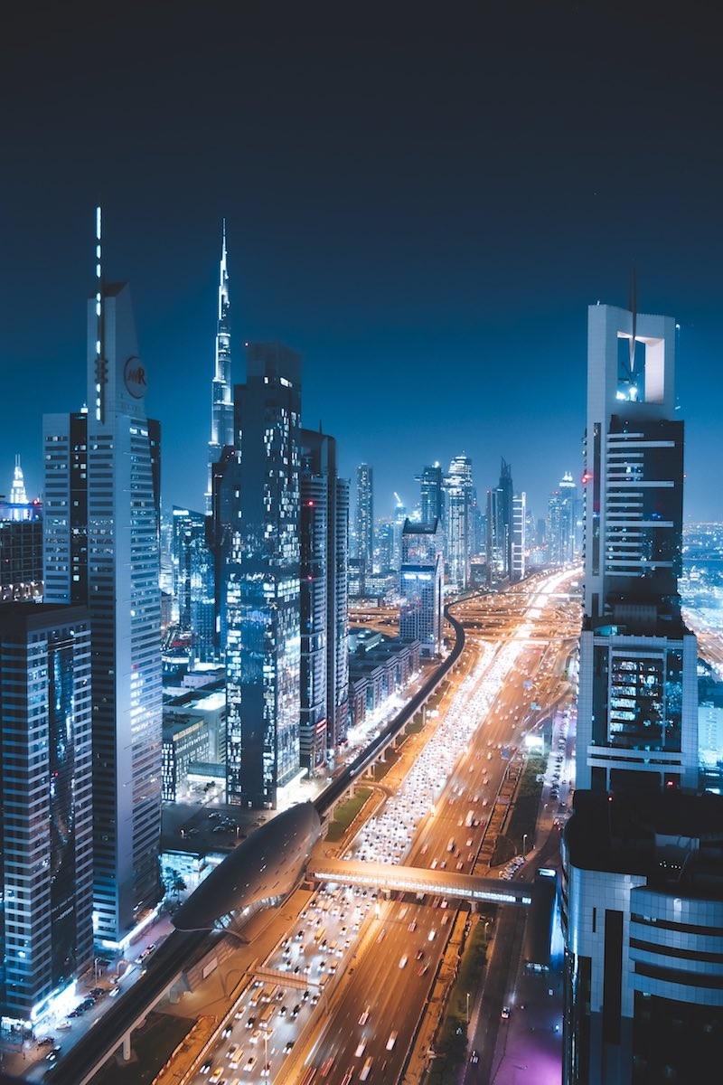 Dubai Under Lights por Lucas Guerra
