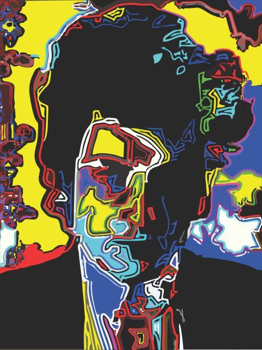 Dylan, The Poet  por Samuel Machado