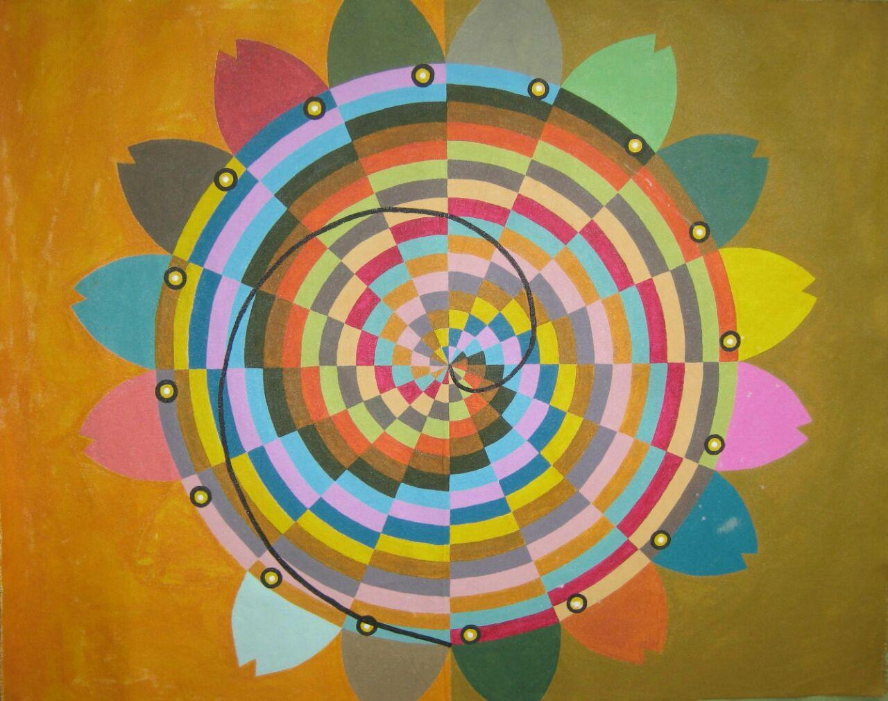 Espiral de Arquimedes por Marco Bulhões