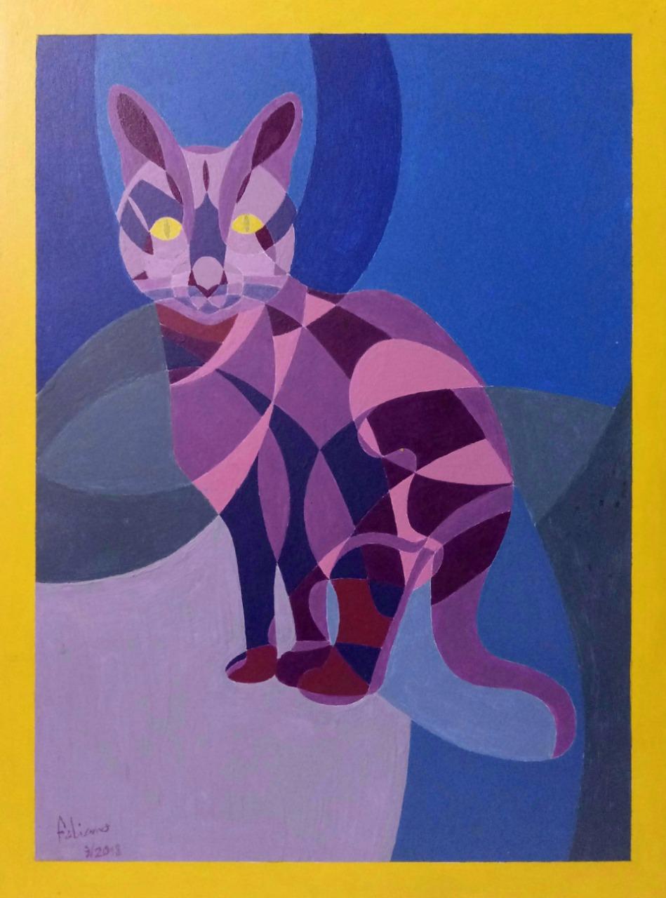 Estudo em violeta por Fabiano Gonçalves