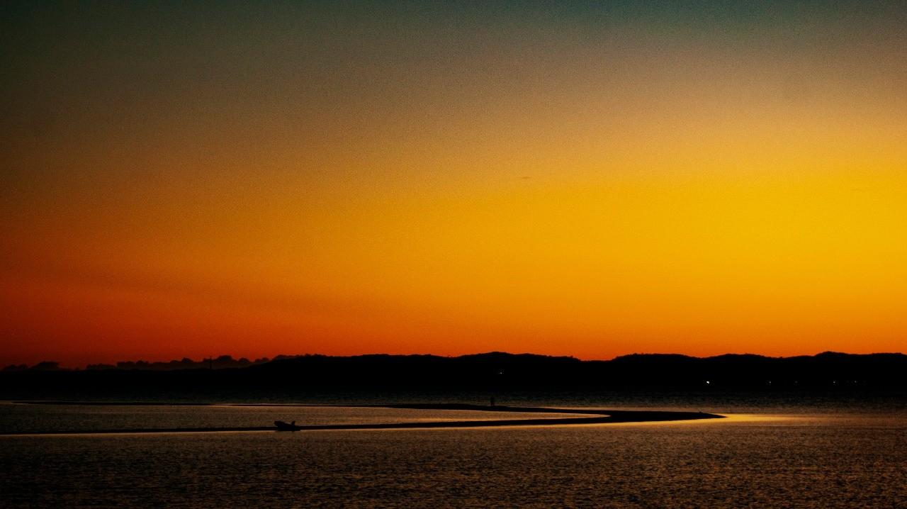 Crepúsculo Laranja por Daniel Cruz
