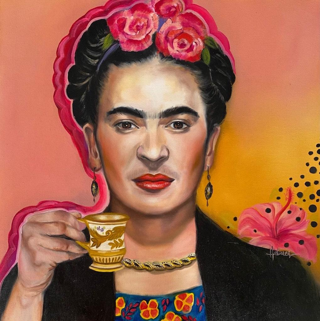 Frida Kahlo por Helines