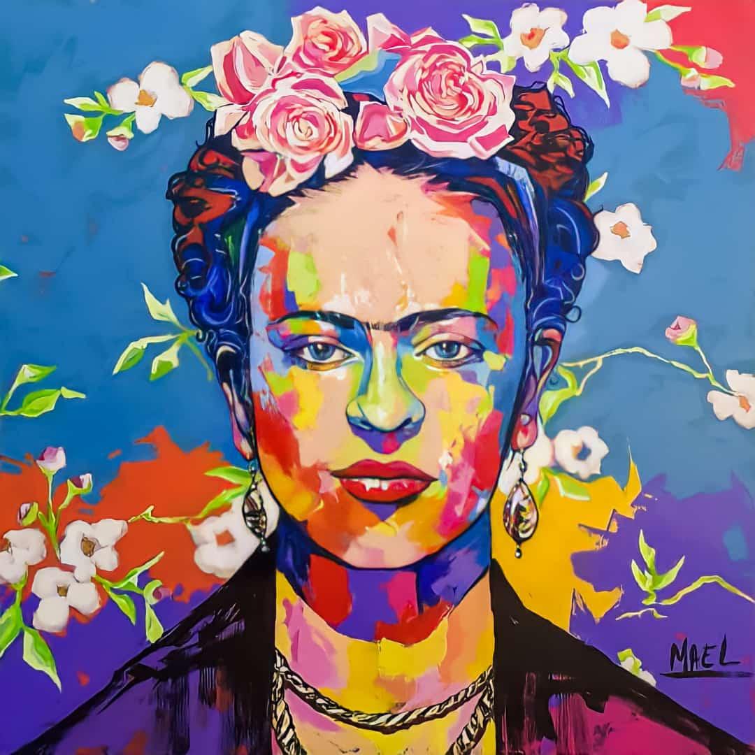 Frida Kahlo por Mael Barbosa