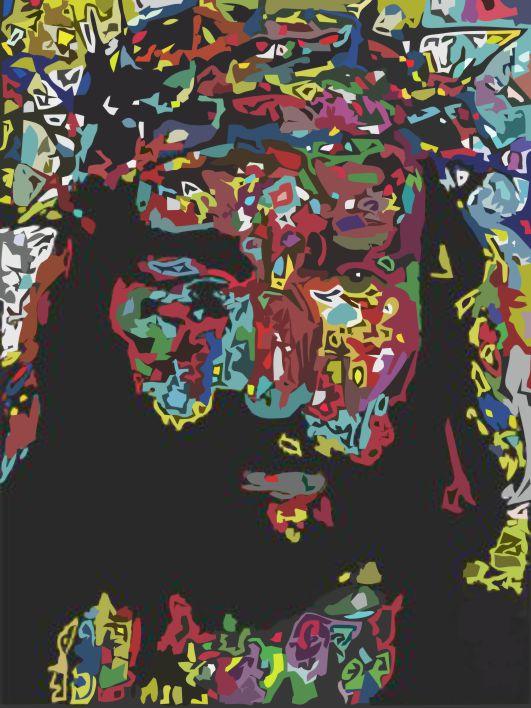 Jesus por Samuel Machado