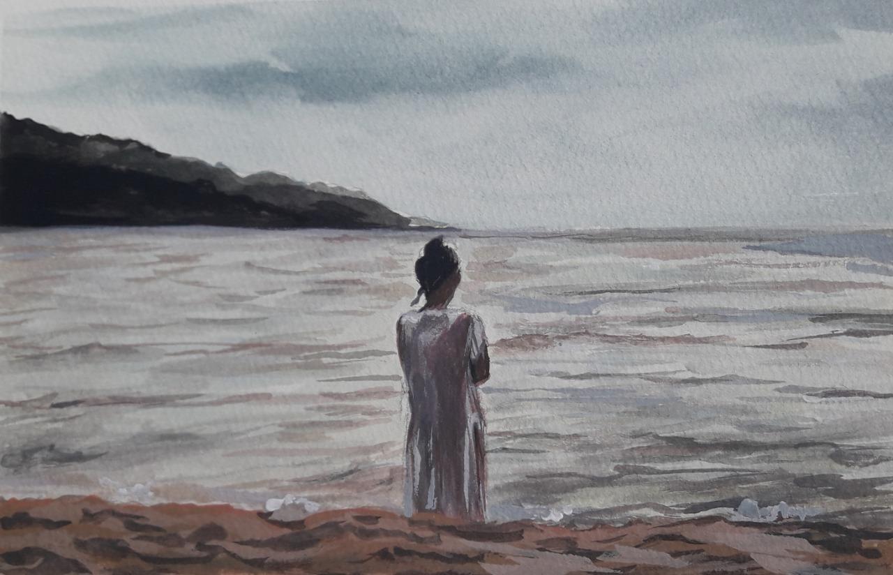 Mar de esperança por Cecília Arguello