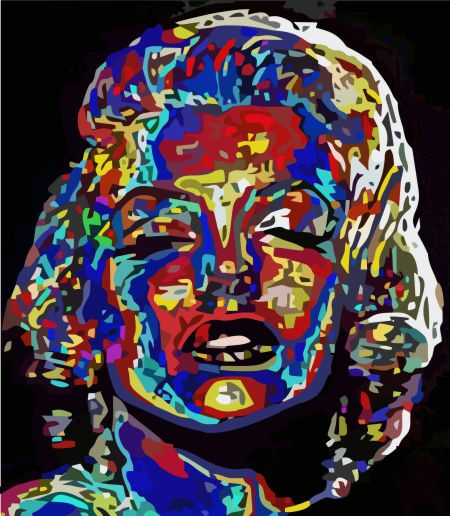 Marilyn Monroe por Samuel Machado