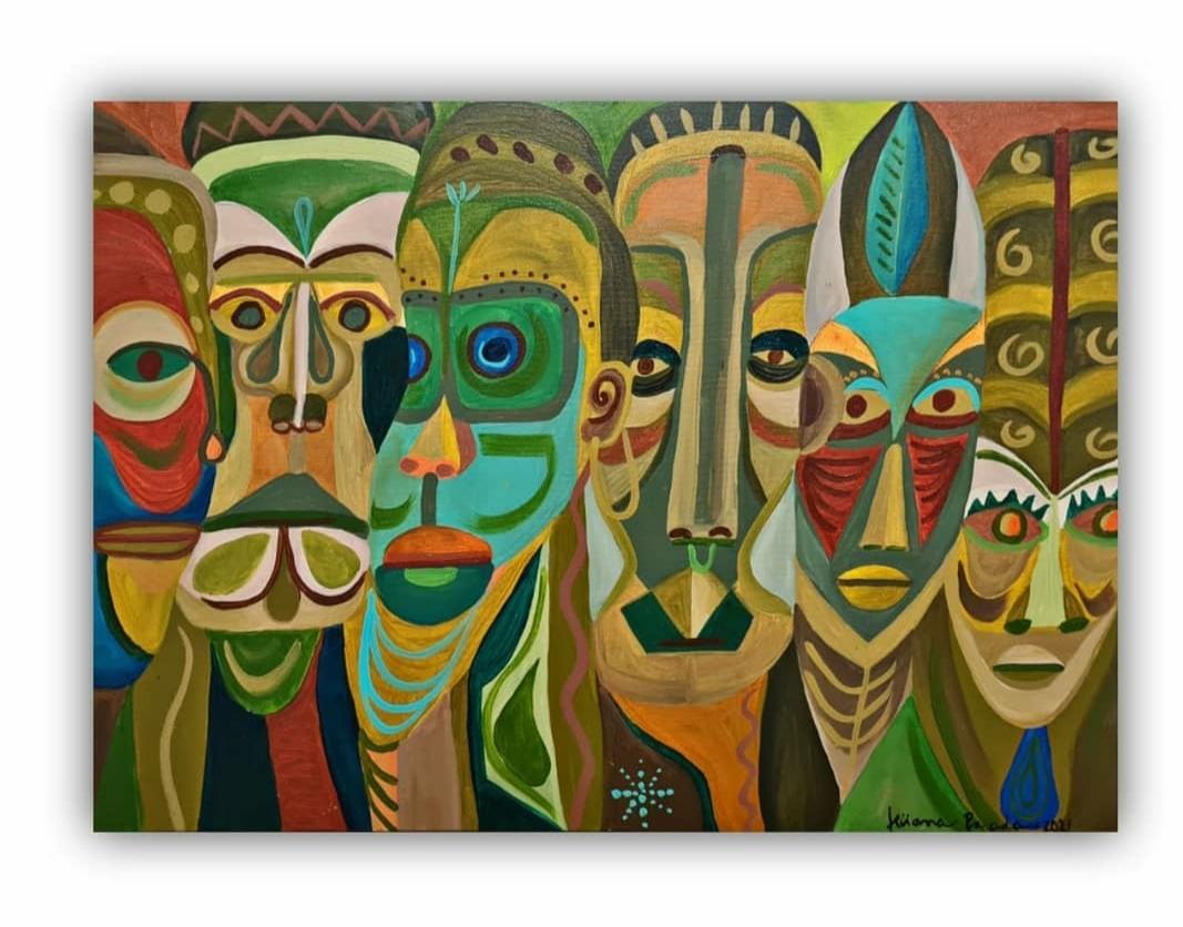 Máscaras por Ticiana Parada