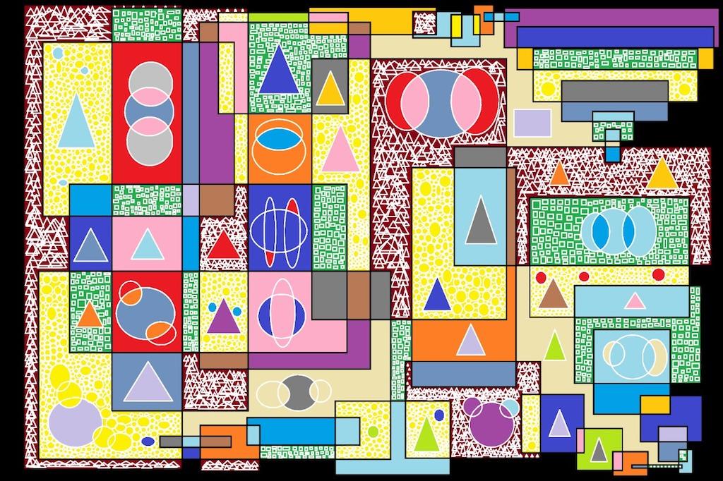 Meu abstrato por R. F. Bongarten