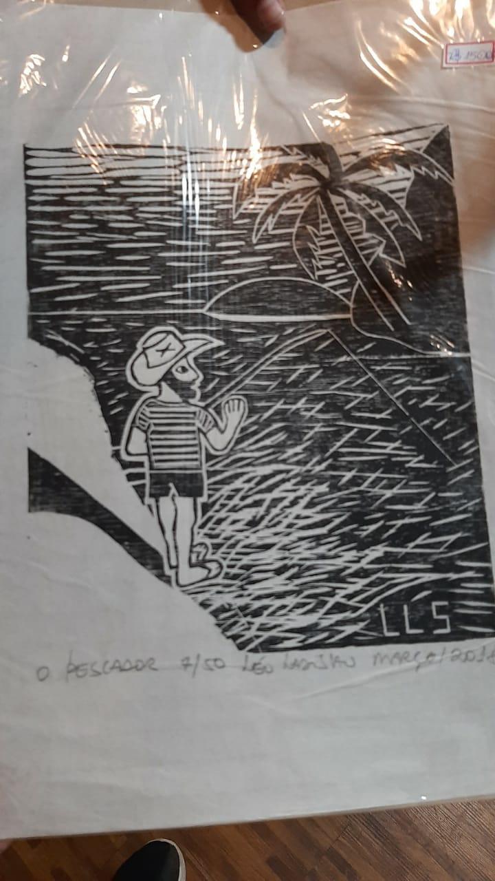 O pescador  por Leo Ladislau