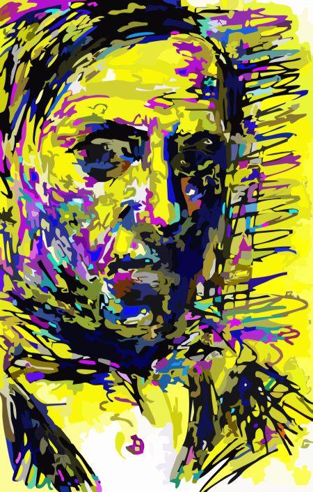 Picasso Self Portrait por Samuel Machado