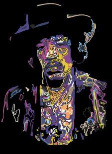 Purple Haze por Samuel Machado