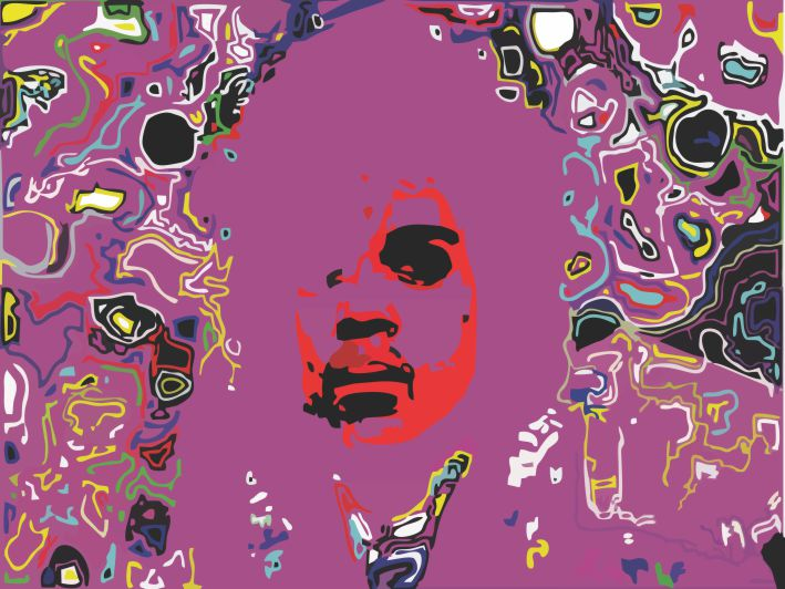 Purple Rain por Samuel Machado