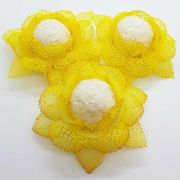 Forminhas para Doces - Amarelo Mostarda SI - F75 Tela - 25 un