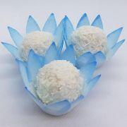 Forminhas para Doces - Azul Claro - F120 Viscose - 50 un