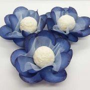 Forminhas para Doces - Azul - F14 Tafetá - 25 un
