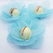 Forminhas para Doces - Azul Tiffany - F14 Tela - 25 un