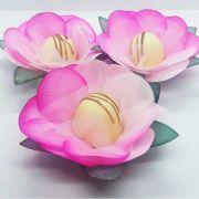 Forminhas para Doces - Pink com Rosa - F23 Tafetá - 25 un