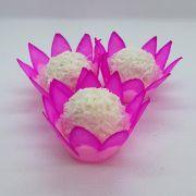 Forminhas para Doces - Pink - F120 Viscose - 50 un